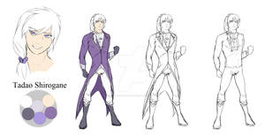 Tadao Shirogane - Character Sheet #08