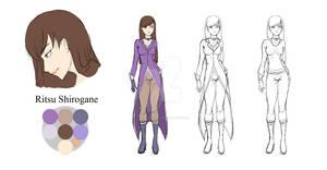 Ritsu Shirogane - Character Sheet #11