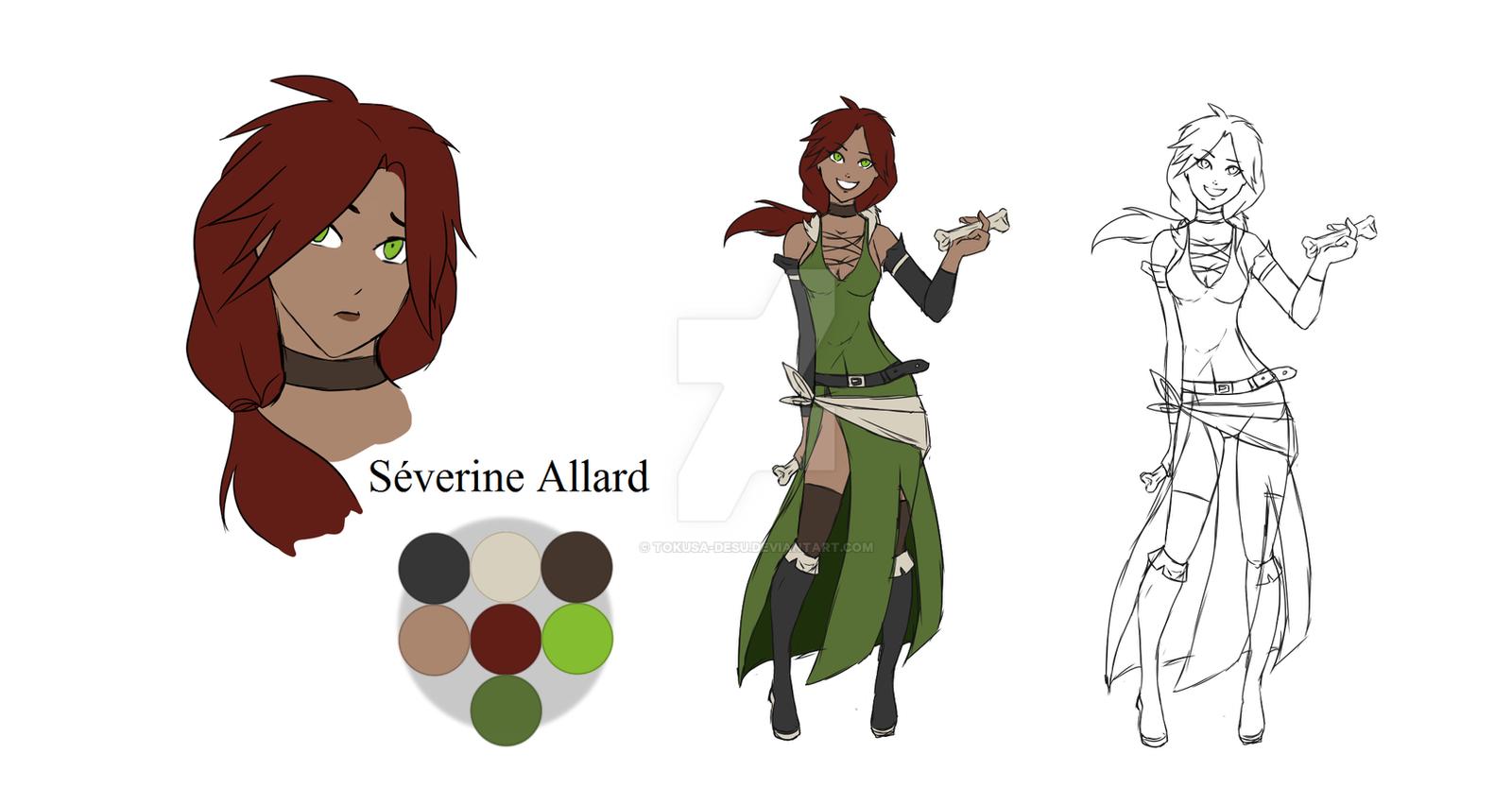 Severine Allard - Character Sheet #14 by Tokusa-desu