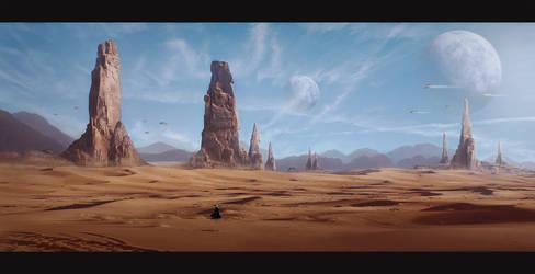 Arrakis Desert by DariaRidel