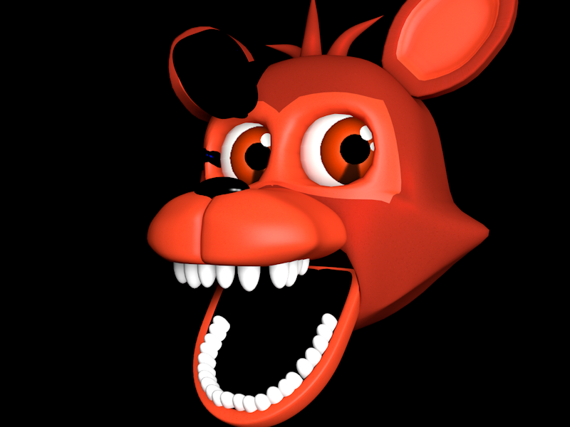 Adventure Foxy Head Pack Fnaf World 2.0 By Nathan By