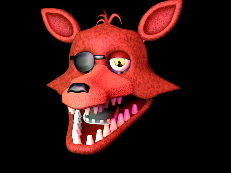 Unwithered Foxy Head By Nathanzica By NathanzicaOficial On