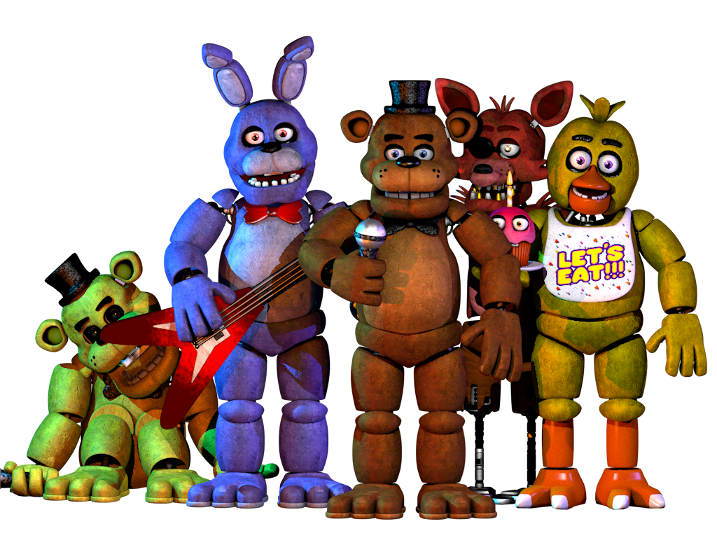 Pack fnaf 1 2 0 by nathanzica download by for Deviantart vrchat avatars