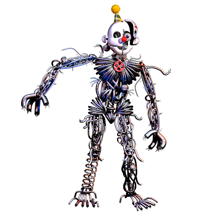 Ennard 3.0 By Nathanzica By NathanzicaOficial On DeviantArt