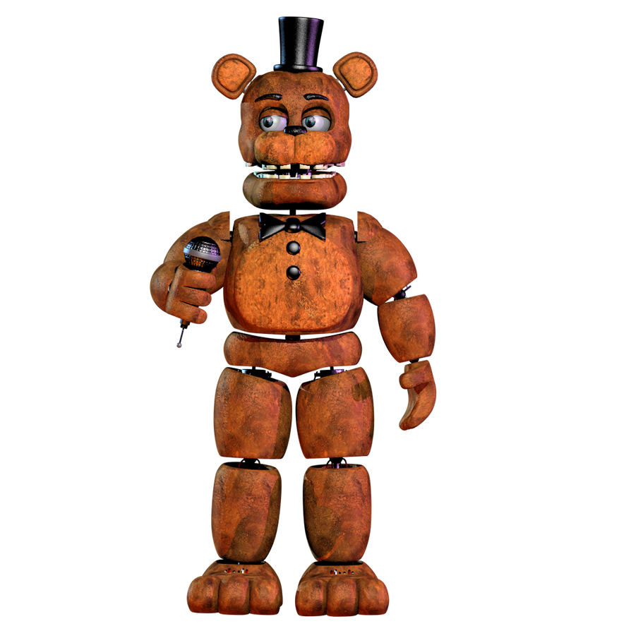 Unwithred Freddy V2 By NathanzicaOficial On DeviantArt