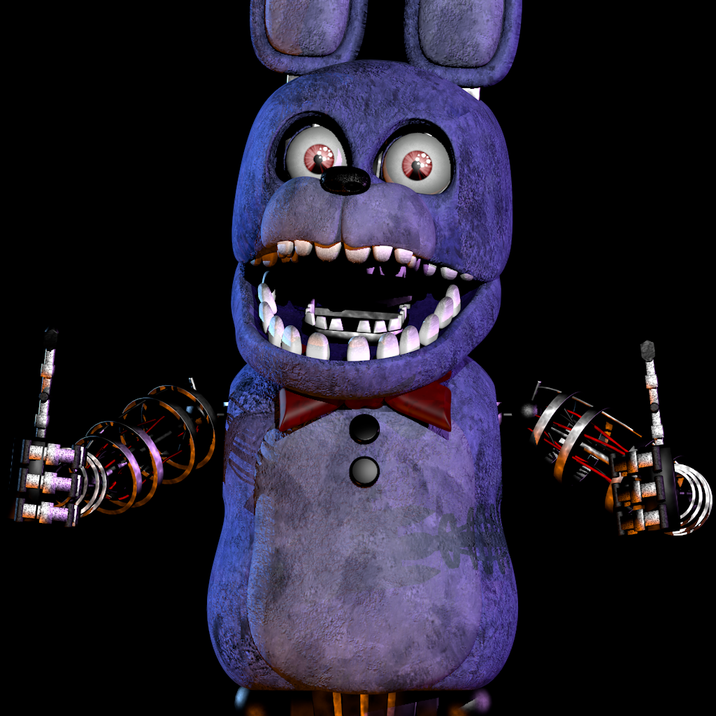 Unwithered Bonnie WIP 2 By NathanzicaOficial On DeviantArt