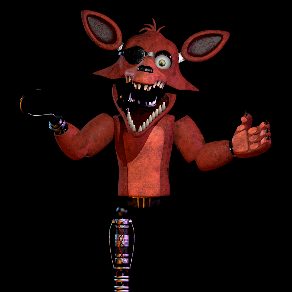 Unwithered Foxy V2 WIP 2 By NathanzicaOficial On DeviantArt