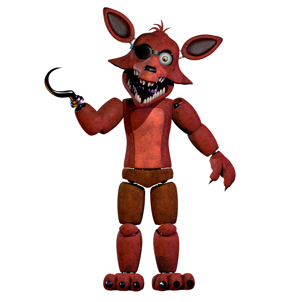 Unwithered Foxy V2 By NathanzicaOficial On DeviantArt