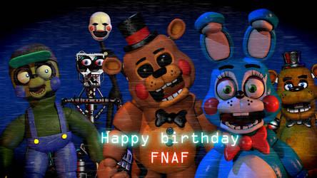 Happy birthday fnaf by NathanzicaOficial