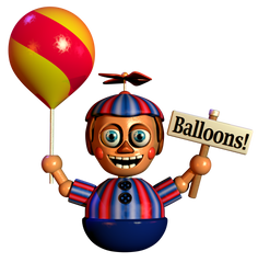 Balloon boy v3 WIP 2 by NathanzicaOficial