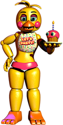 Toy chica by withefoxybr by NathanzicaOficial