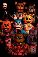 Fnaf poster by NathanzicaOficial