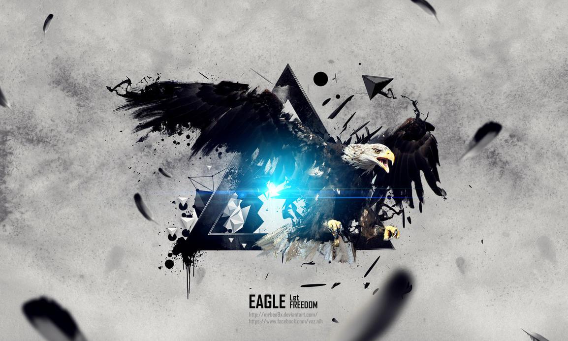 Eagle Freedom by MrBeO9X