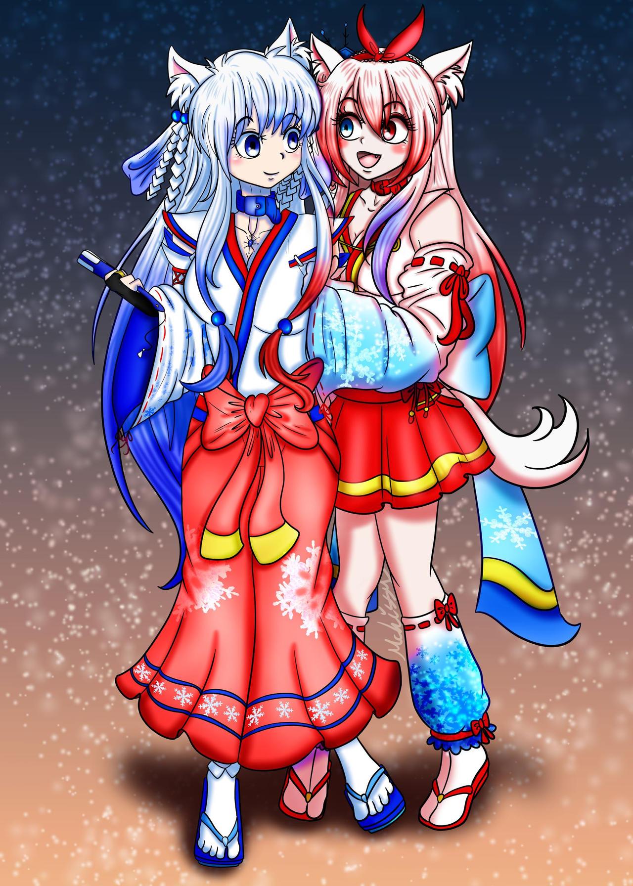 Fuyu Yuki and Shirai Yuki Request MegaMikoyEX7