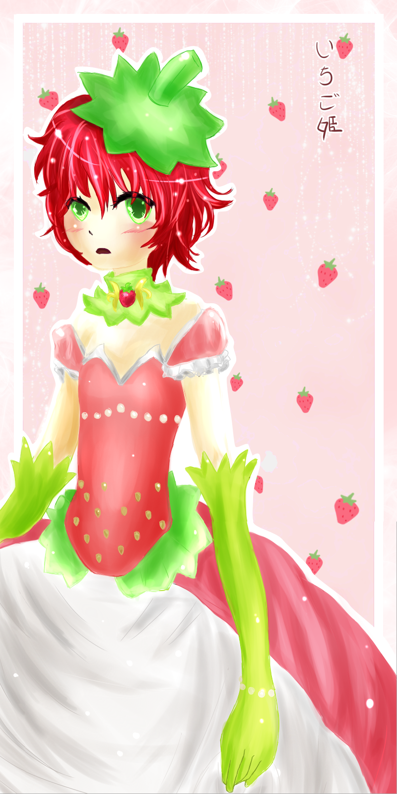 Sweet Strawberry Princess-SP by Frogfire