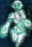Green lantern animated series AYA by rusting-angel