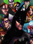 Batman and the Rogues Gallery Print