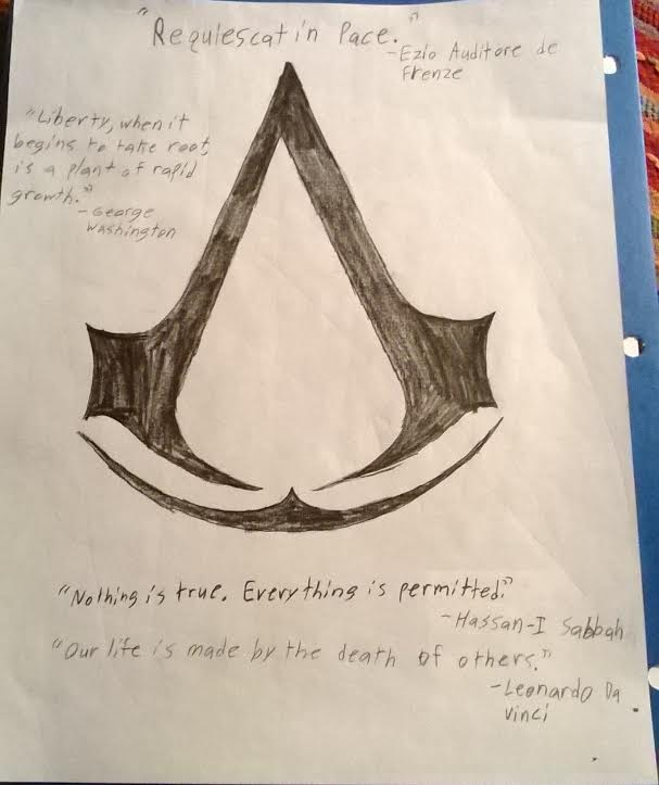 Assassin S Creed Symbol And Quotes By Ghostfire13 On Deviantart