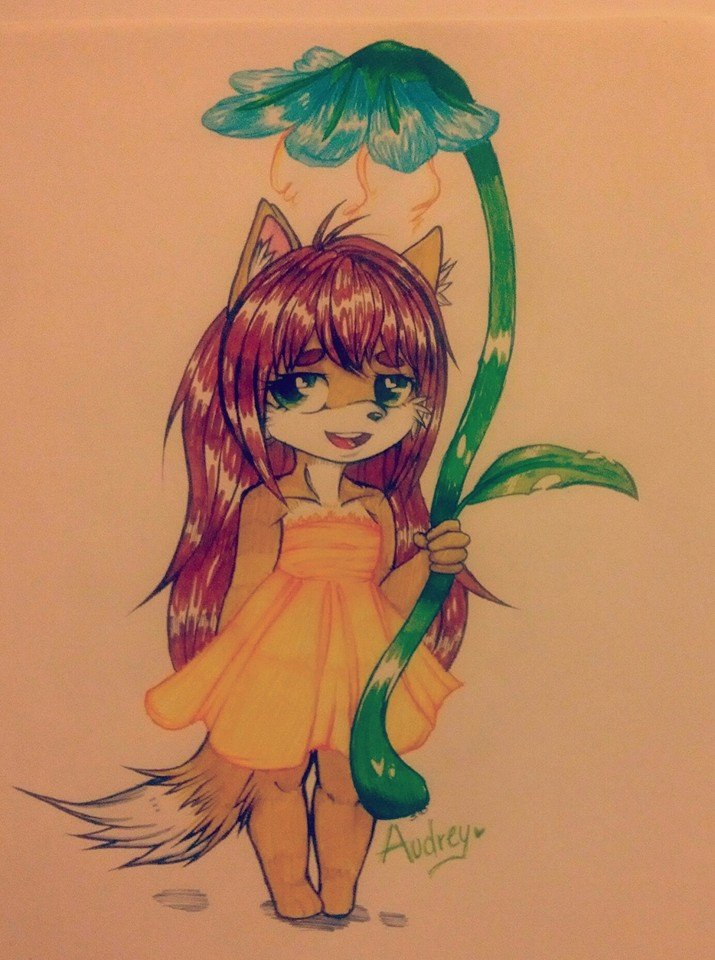 .:Little cute audrey:. by Risky-su