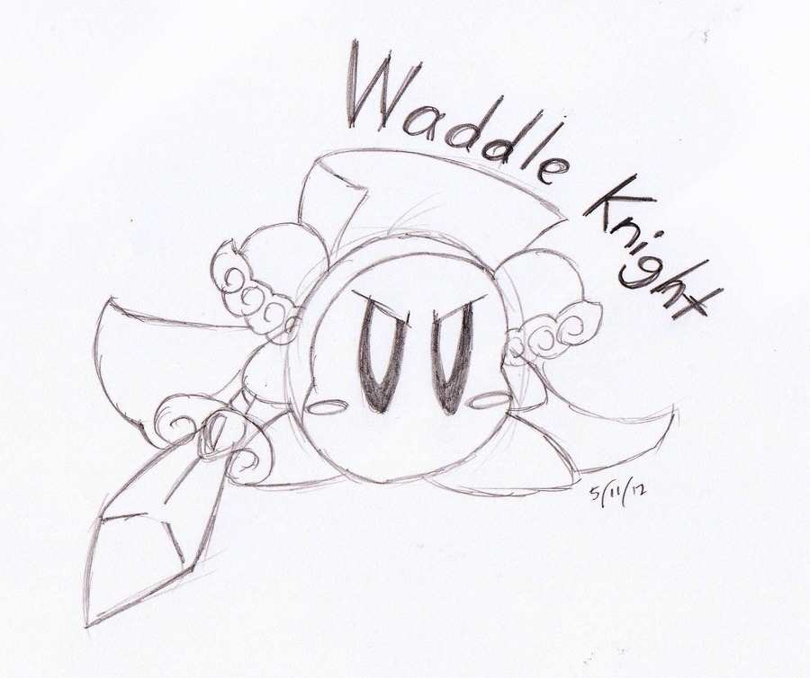waddle dee coloring pages - photo #8