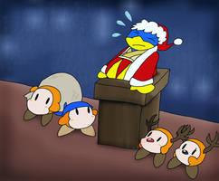 Dedede Claus?? by Nintooner