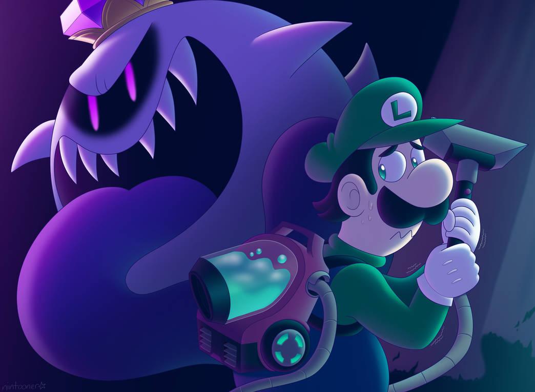 Redraw: Luigi's Mansion 3!