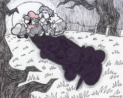 Inktober 7: Enchanted