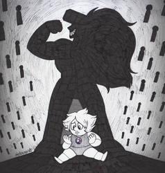 Inktober 18: Misfit