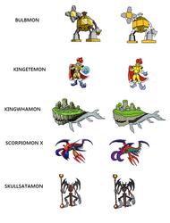 Digimon Sprites In Development