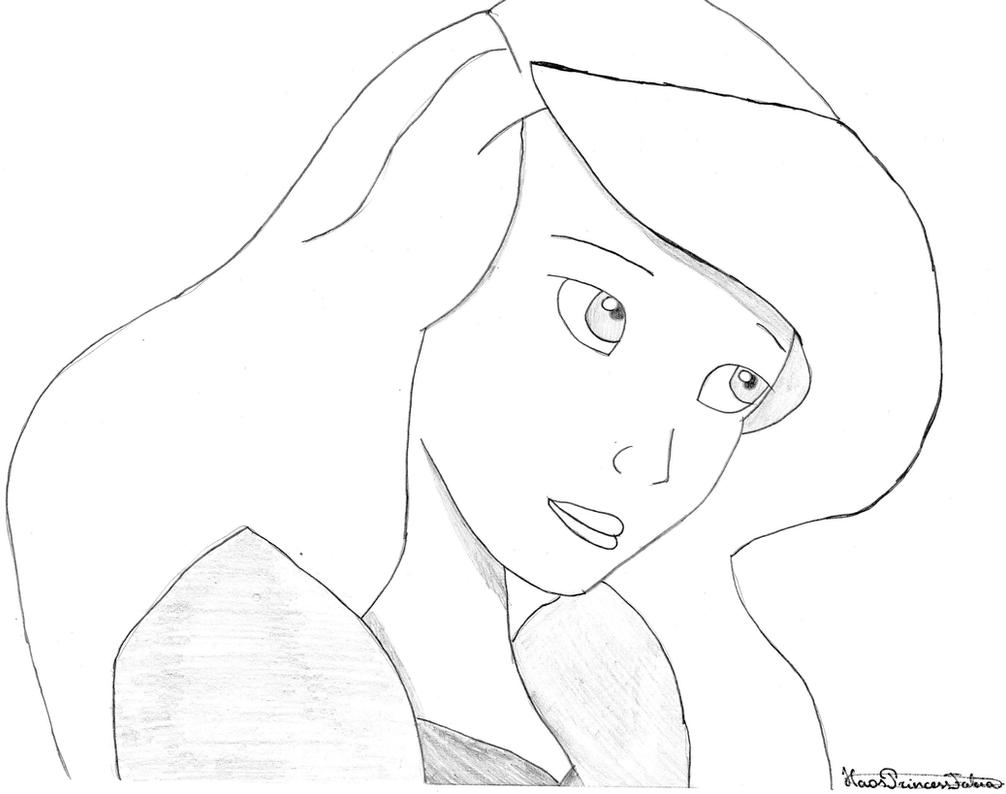disney swan princess coloring pages - photo#23