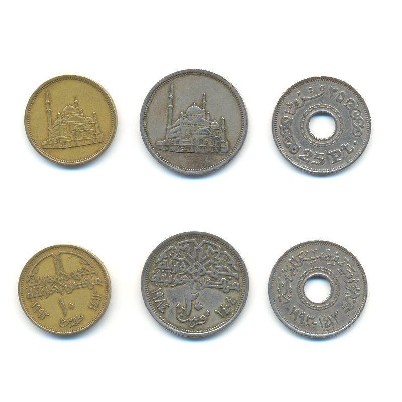 Egyptian coins by maxspider