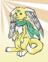 Angelic Creature by blufyrdragon4