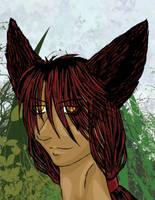 Timber Wolf by blufyrdragon4