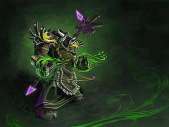 Tauren Druid by AJNazzaro