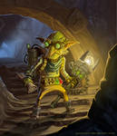 Outcast Odyssey  Goblin Inventor