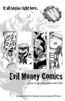Evil Money Comics Flyer A by Evil-Money-Comics