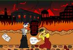The Goths Sack Rome