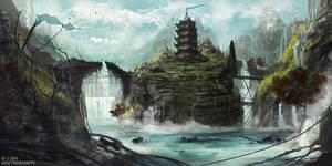 Immortal floods by HideTheInsanity