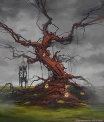 Tree of lost souls by HideTheInsanity