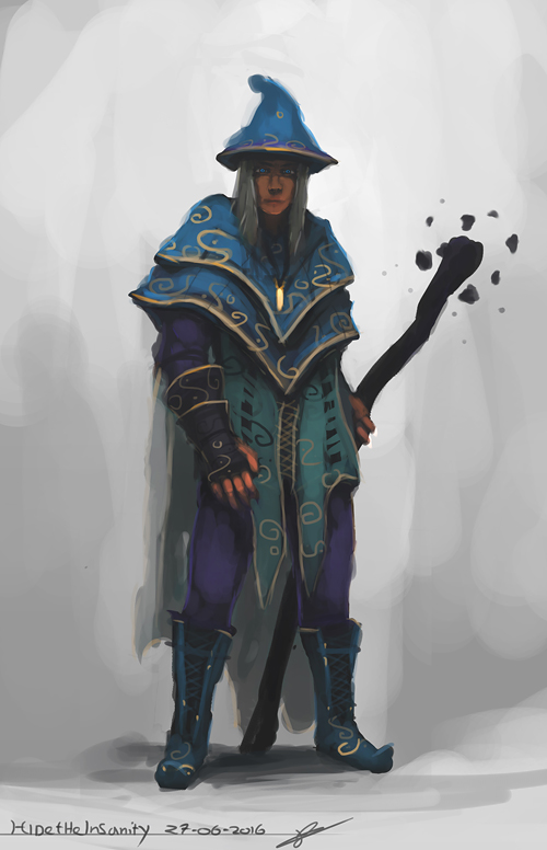 Sorcerer by HideTheInsanity