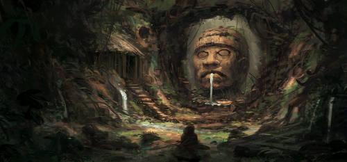 The Shrine of Patecatl by HideTheInsanity