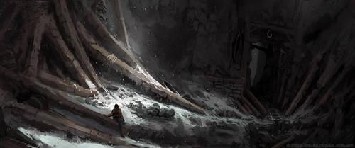 The Mine by HideTheInsanity