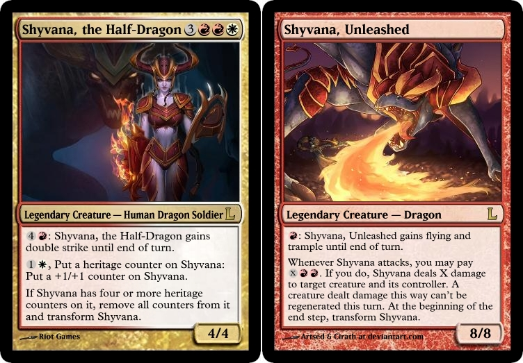 Mtg shyvana the half dragon by soy monk on deviantart mtg shyvana the half dragon by soy monk pronofoot35fo Choice Image