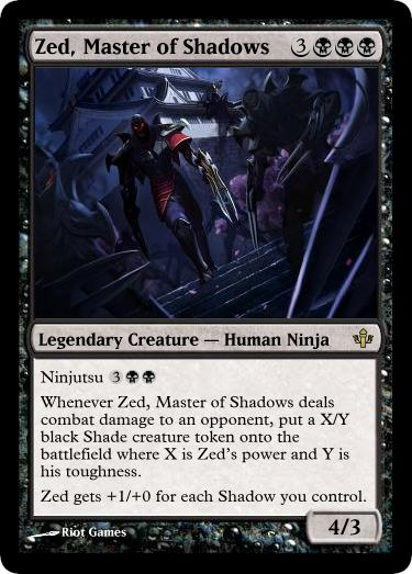 MtG - Zed  Master of S...