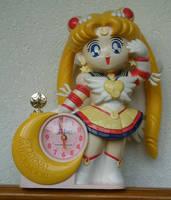 Eternal Sailor Moon Clock by Mclarengirl