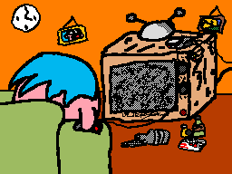 The TV is Jacked Up Again... by SparXSoul340