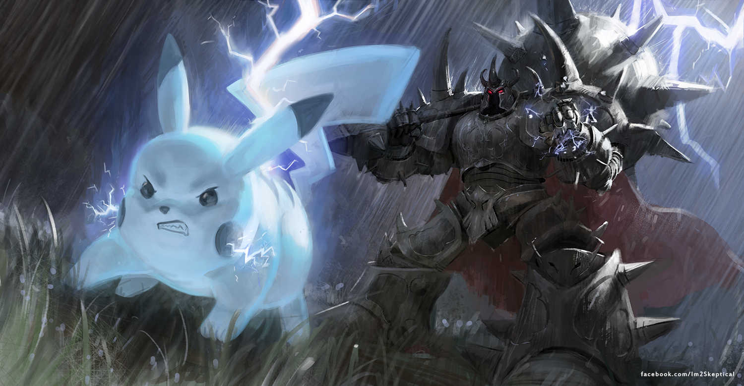 Mordekaiser by fokaron on deviantart mordekaiser and pikachu by imskeptical voltagebd Images