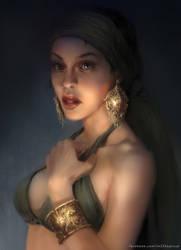 Gold Portrait