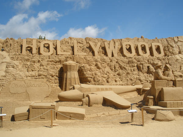 Sand sculptures - Hollywood by misS-suZy