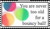 Bouncy ball stamp by GloomySisterhood